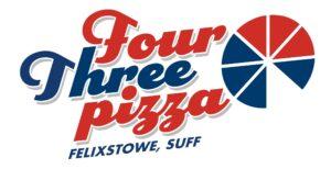 Four Three Pizza logo