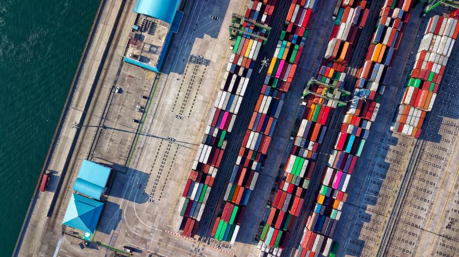 Felixstowe port containers