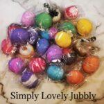Simply Lovely Jubbly bath bombs