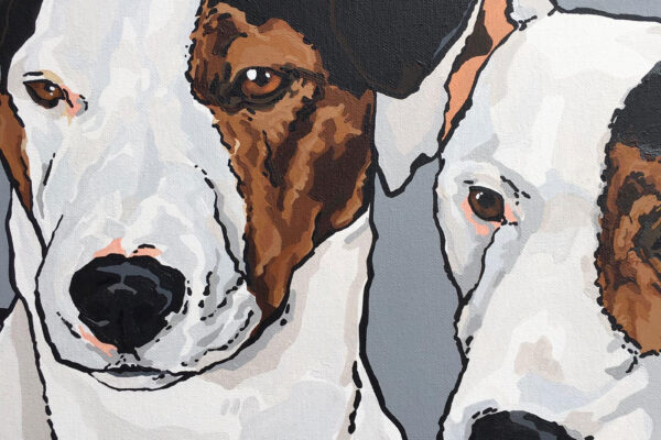 Gallery Box Art dog art