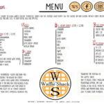 Waffle shack menu