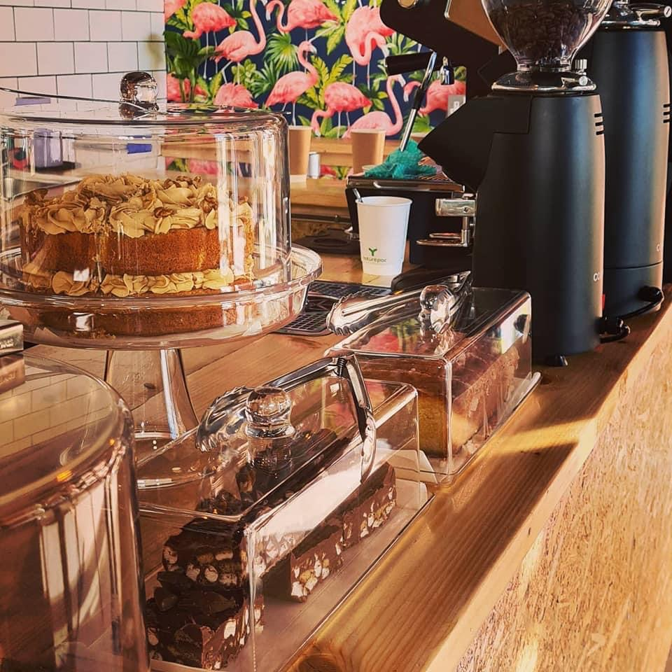 Shore specialty coffee and cakes in Felixstowe