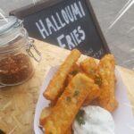 Halloumi Fries from Patty Macs, Beach Street Felixstowe