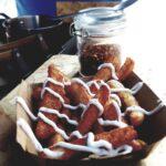 Halloumi Fries with sauce from Patty Macs, Beach Street Felixstowe