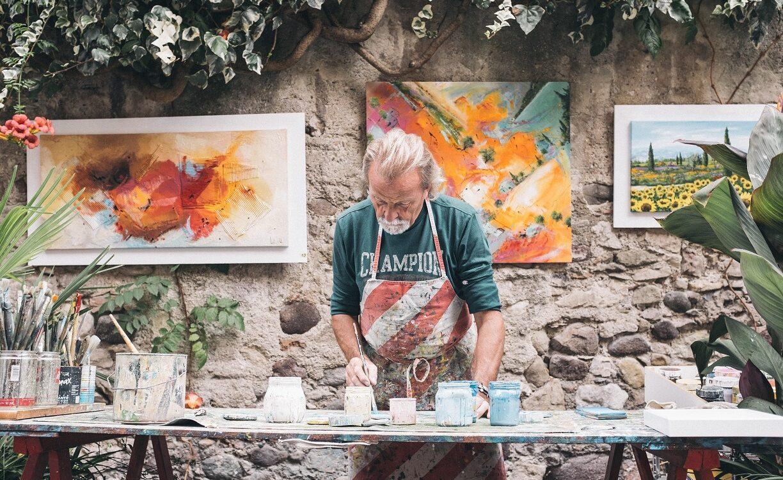 Felixstowe – the artist's inspiration!