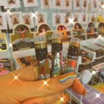 A collection of Scorpio, Aries and Cancer zodiac lip balms from Crystal Eclipse at Beach Street Felixstowe